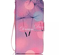 novo padrão anjo pu material de cordão ficar bolsa dinheiro caso de telefone para Huawei p8 Lite