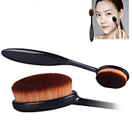 2015 new Oval Makeup Tool Cosmetic Foundation Cream Powder Blush Makeup Brush