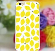 Zitrone 1 Muster TPU Tasche für iphone6 / 6s