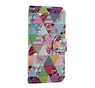 Squares Pattern With Diamond Phone Case For iPhone 5/5S