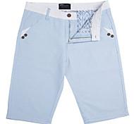 Lesmart Hommes Shorts / Droite / Costume / Tailleur Pantalon Bleu / Gris / Beige - GW15061