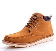 Men's Shoes Outdoor / Office & Career / Casual Boots Black / Blue / Khaki