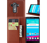 Wallet Flip PU Leather Cell Phone Case Cover For LG G3/G3 Mini/G4/L90/F60/AKA/Magna/H220