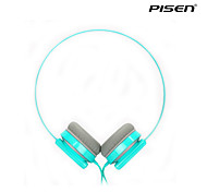 Pisen Lightweight Wired Rotatable Headset Adjustable Headband Standard 3.5mm Over-ear Headphone 1.5m Wire