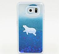 blau lackiert Sand PC-Telefonkasten für Galaxie S6 / S5 / S4