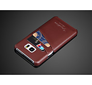 Best Genuine Leather Cell Phone Case for Samsung Galaxy Note5