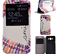 Refill Pattern PU Material All Inclusive Bracket Models phone Case for Samsung Galaxy J5/J7