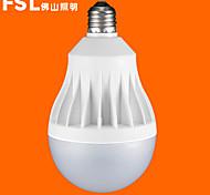 FSL® E27 20W 6500K Cool White Light LED Globe Bulbs 220v