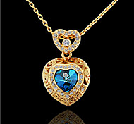 Gold Necklace With The Heart Of The Sea