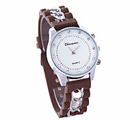Freeshipping    new personalized fashion version of the cheetah   pattern  silicone quartz watch fashion ladies watch