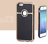 High Quality Business Leather Back Cover for iPhone 6 (Assorted Colors)
