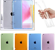 Cooltra Thin Soft TPU Silicone Clear Case Cover for iPad mini 1/2/3(Variety of Color)
