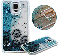 Painted Blue Sand PC Phone Case for Galaxy S5