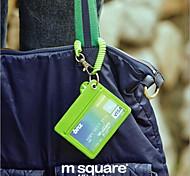 Bus Card Sets Lanyard Badge Access Card Security Chain Slim Korea Lovely Bank Card