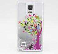 caso de telefone areia pc prata pintado por galáxia Nota4 / Nota3