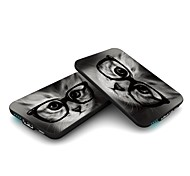 SMARTOOOLS MC5 CARD 5000mah Power Bank,Credit Card Size External Battery Charger Mobile Power Cat Glasses