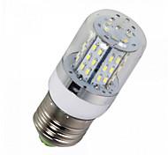 ywxlight® 1pcs E14 / E26 / E27 5W 450lm 3014 48smd caliente / ac blanco frío / dc 10-14v