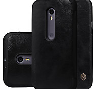 NILLKIN Qin Series Leather Case Turnkey Following Cover Case for MOTO G3 XT1550(Assorted Colors)