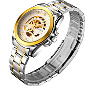 Men's Watch Mechanical Gold Automatic Waterproof Watch Cool Watch Unique Watch