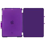 de cuero de la PU de la novedad con el caso elegante carcasa de plástico duro cubre para el ipad 4 / ipad 3 / ipad 2