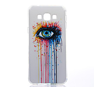 Colorful Tears Pattern TPU Soft Case for Samsung Galaxy A8