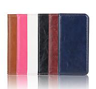 iphone 7 más estuche de cuero PU de la carpeta de lujo loco ma patrón de alta calidad de 5,5 pulgadas para el iphone 6s 6 más