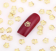 500PCS Lovely Nail Art Nail Jewelry Nail Decorations Gold Finger Alloy for Aryclic Nail Tips Decorations