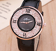 Ladies's Watch Fashion Personality Lady Belt Drain Sand Quartz Watch