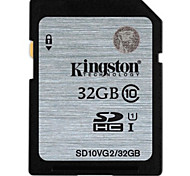 Kingston 32GB UHS-I U1 / Clase 10 SD/SDHC/SDXCMax Read Speed30 (MB/S)Max Write Speed30 (MB/S)