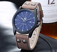 Sports Leather Band Watches Men Twill Digital Scale Single Calendar Quartz Neutral Fashion Watch Wrist Watch Cool Watch Unique Watch