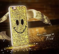 High Quality Smiling Face Style Back Cover for iPhone 6 (Assorted Colors)