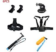 KingMa Universal Gopro Accessories kit for Gopro Hero 4 3+ 3 2 1 Outdoor Sports Camera