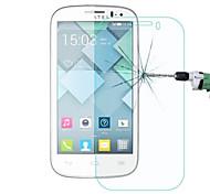 filme protetor de tela de vidro temperado para Alcatel One Touch pop c5