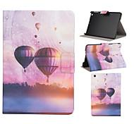 Heißluftballon-Muster PU-Leder Ganzkörper-Fall mit Stand Steckplatz für ipad mini / ipad mini 2 / ipad mini 3