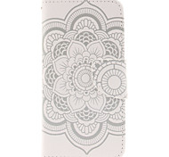 LEXY® Mandala Pattern PU Full Body Leather Case with Screen Protector and Stylus for iPhone 6/6S