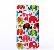 Baby Elephant Pattern TPU Soft Case for Nokia N640