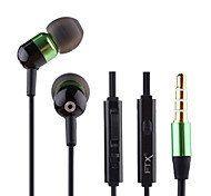 Sports Music Headphones High Quality Style Telephone Answering In-Ear Earphones for Samsung Phones(Assorted Colors)