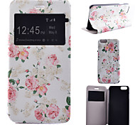 Peony Pattern Bracket Models All Inclusive Phone Case for iPhone 6/6S