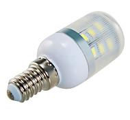 9W E14 / E26/E27 LED a pannocchia T 24 SMD 5730 810 lm Bianco caldo / Luce fredda Decorativo AC 220-240 / AC 110-130 V 1 pezzo
