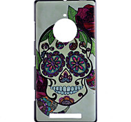 Skull  Pattern PC Hard Case For Nokia Lumia 830
