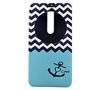 Sea Pattern Full Package PU leather Material Stand phone Case for Asus Zenfone 2/Asus Zenfone 5