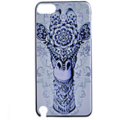 Giraffe  Pattern Hard Case for iTouch 5