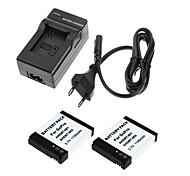 Charger / Batterie Praktisch Für Gopro Hero 1 / Gopro Hero 2 , negro ABS / N/A