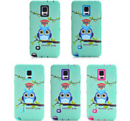 Plastic Silicone 3-in-1 Design Nationality Pattern Protective Hard Case Mobile phone  for Samsung Galaxy Note 4