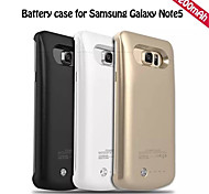 4200mAh External Portable Backup Battery Case for Samsung Galaxy Note5 (Assorted Colors)