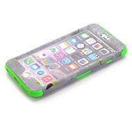 3-in-1 disegno nazionalità modello protettivo cassa dura del telefono mobile per il iphone 6s colori assortiti