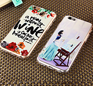 The Embossed Painting China Combo Wind Beautiful Mobile Phone Shell for iPhone6/iPhone 6s(Assorted Colors)