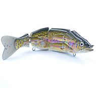 """1 pcs Iscas Jerkbaits N/A 38 g Onça mm/6"""" polegada,Plástico DuroIsco de Arremesso / Pesca de Água Doce / Pesca de Isco / Pesca Geral /"""