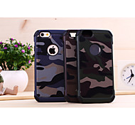 Disruptive Pattern Drop resistance PC Mobile phone for iPhone6s plus Assorted Color