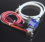 E3D V6 Hot End Full Kit 1.75mm 12V Bowden/RepRap 3d Printer Extruder Parts Accessories 0.4mm Nozzle